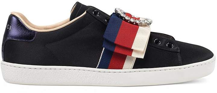 efa60b09578 Gucci Women s New Ace Laceless Sneakers