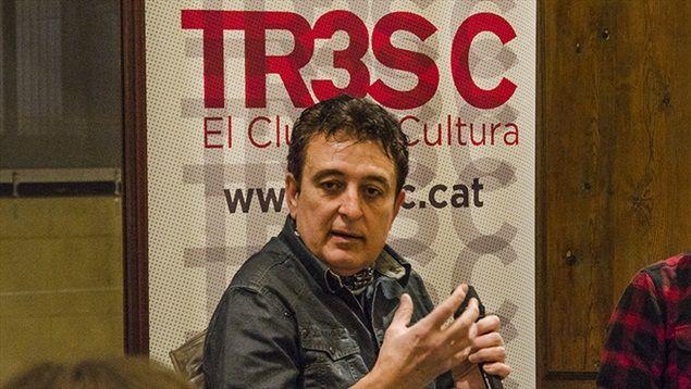 Trobada amb Manolo García i els socis del Club TR3SC al Museu Europeu d'Art Modern. Més imatges: http://www.tresc.cat/galeria/328