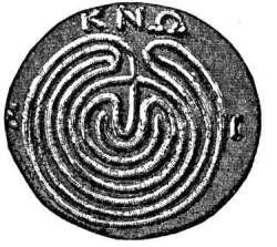Het labyrinth was in de Griekse mythologie een ondergronds doolhof dat door meesterarchitect Deadalus werd ontworpen voor koning Minos van Kreta. Niemand die het labyrint betrad kon de weg terugvinden. In het labyrint sloot koning Minos de Minotaurus op, die iedereen die in het labyrint werd gestuurd verscheurde.
