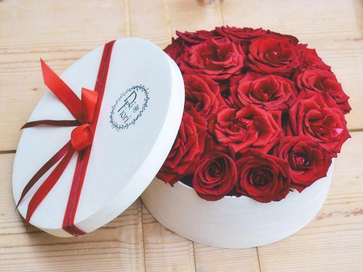 Roses - flowerbox