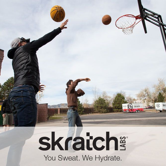 Whatever gets your blood pumping, we encourage you to get outside, have some fun and stay hydrated.  www.skratchlabs.com