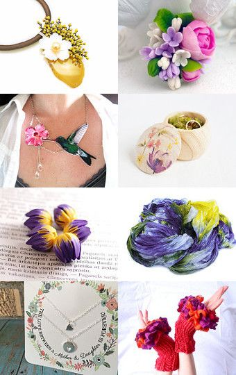 Colored Spring by Mandarina on Etsy--Pinned with TreasuryPin.com