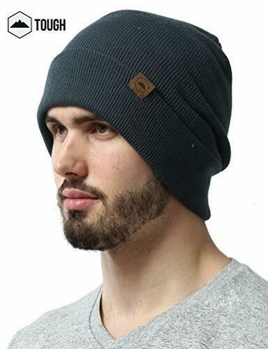 676bf7605f5 Tough Headwear Cuff Beanie Watch Cap Warm Stretchy   Soft Knit Hats for Men   ToughHeadwear