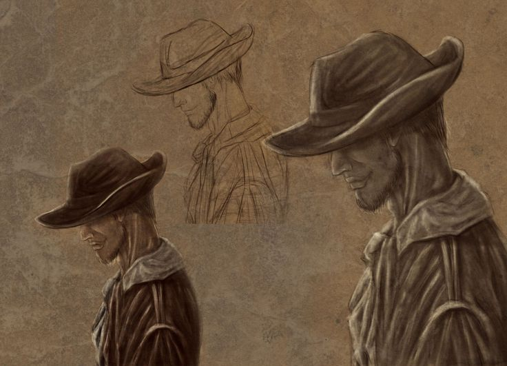 "Check out this @Behance project: ""Western Characters"" https://www.behance.net/gallery/54770103/Western-Characters"