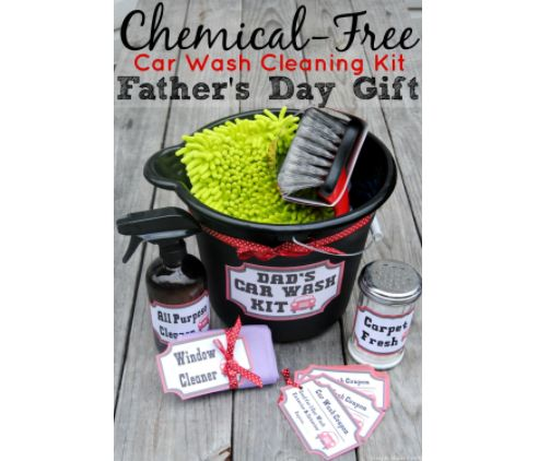 Help your dad keep his (other) baby in tip-top shape this #FathersDay with a chemical-free car care kit he'll actually use!  The best part? You can assemble this gift set yourself! Here are some examples of what you can include👇 ● Car Wash Coupons ● A Wheel Cleaning Brush ● A Car Washing Mitt ● Chemical-free Car Washing Solution  Don't know what chemical-free car washing supplies are good?   @SMPBlog shares their impressive recipe & other gift ideas!   #gift #ideas #holiday