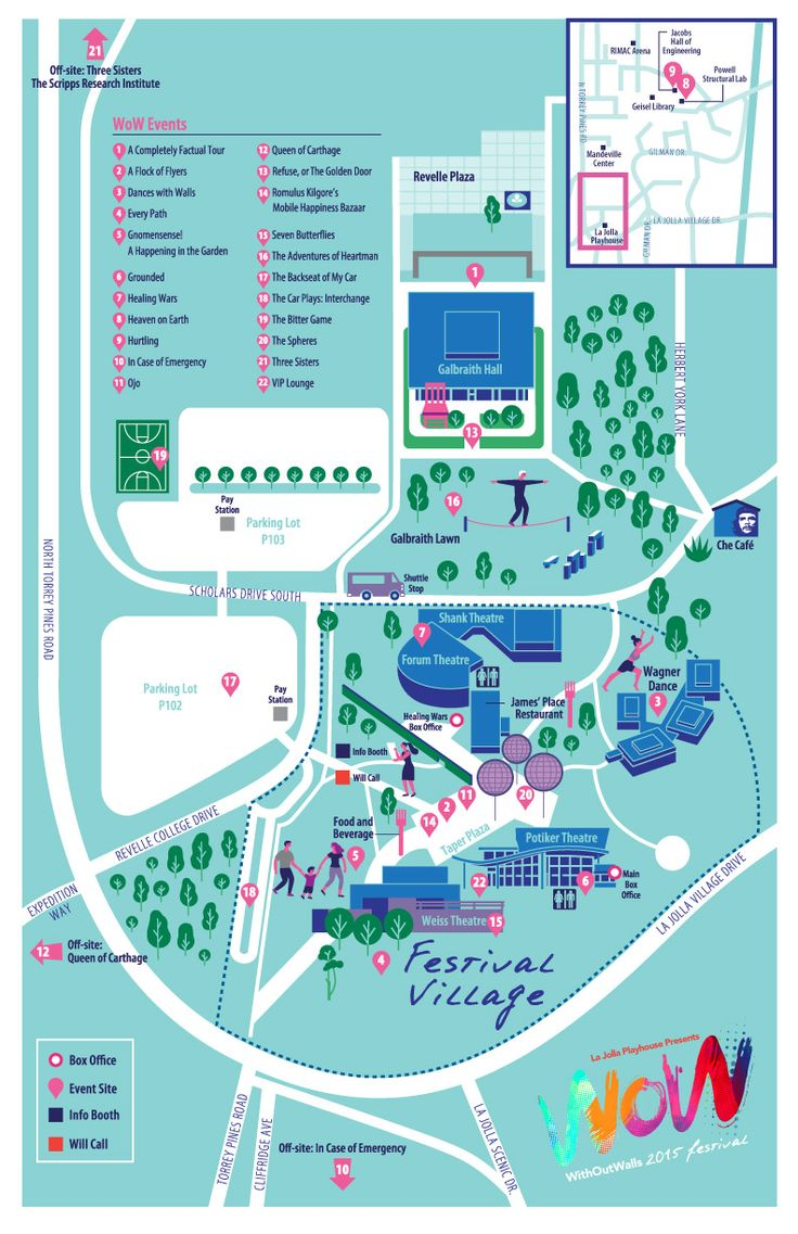 WoW Festival Map