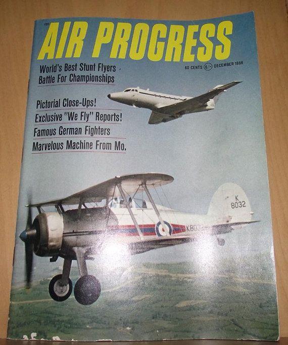 Air Progress December 1966 by DaytonaVintage on Etsy, $8.55