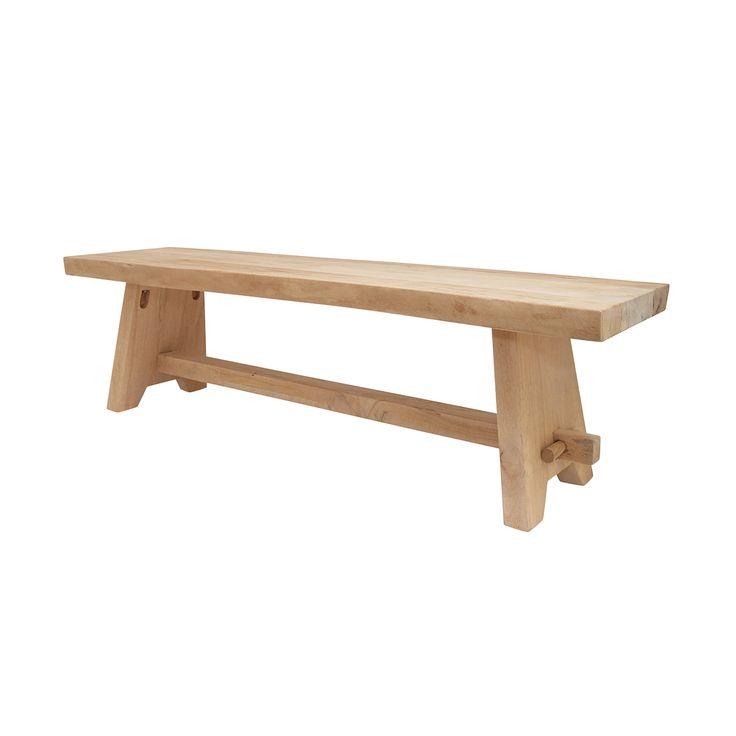 Wooden Bench • WOO Design