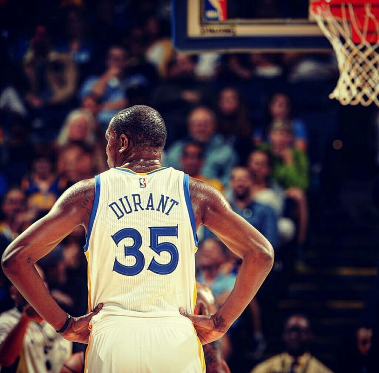 Kevin Durant as a Warrior