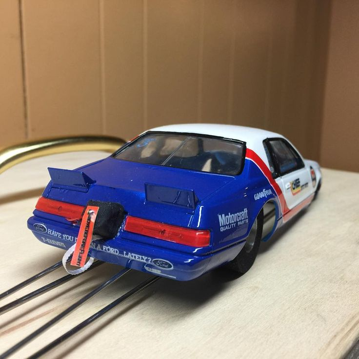bobglidden ford slotcardragracing slotcars Slot car