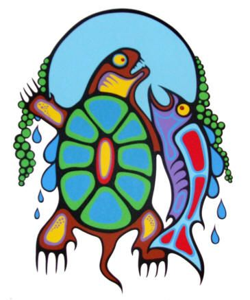 Mark Anthony Jacobson (Ojibwe) - Water