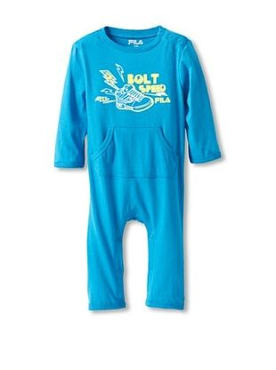 80% OFF Fila Baby Coverall (Blue)