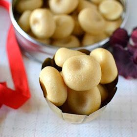 Microwave Doodh Peda (Indian Milk Fudge)