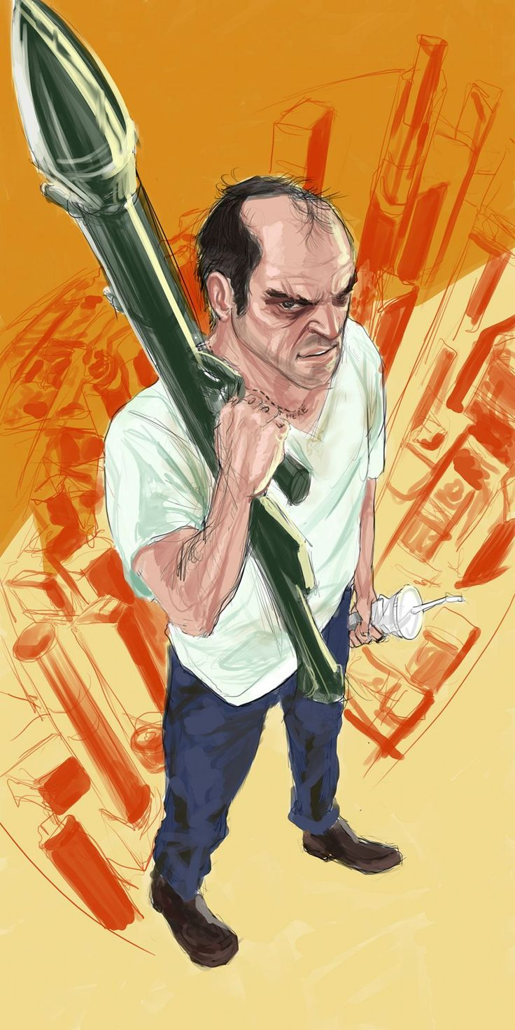 Trevor Philips [#GTA5 fanart]