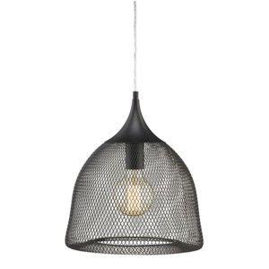 Závěsné světlo Markslöjd Grid 33 cm, černé