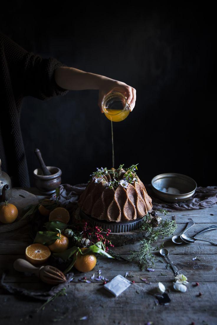 Ciambella alle clementine ed Earl Grey- Clementine Earl Grey bundt cake