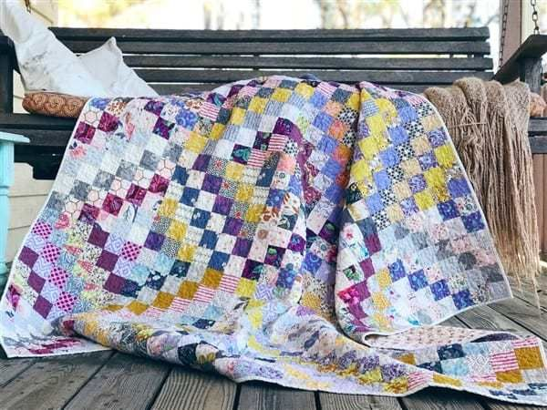 An Updated Wip List Trip Around The World Quilt Reveal Trippy Quilt Quilts Hand Quilting Block Print Quilt
