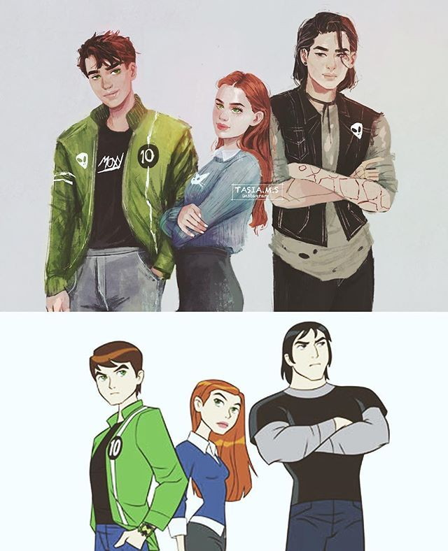 Ben 10 modern version  I loved this show when I was younger