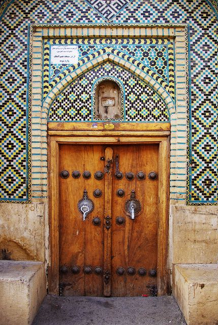 Door - Nasir ol Molk Mosque, Shiraz, Iran