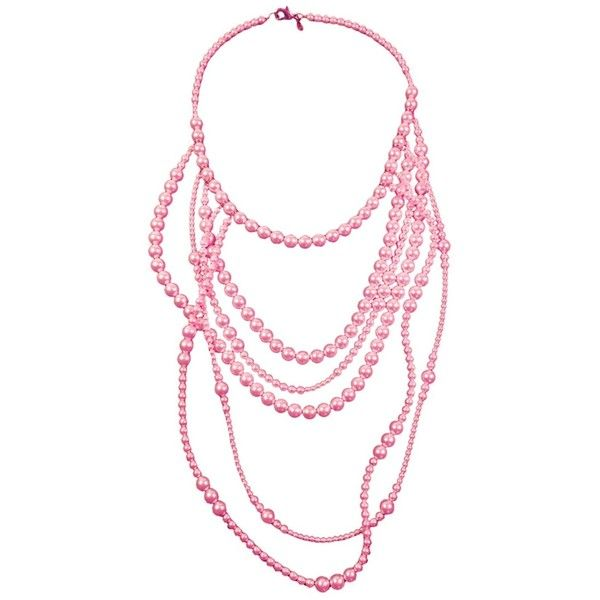 La Mer Pearl Necklace TARINA TARANTINO ($560) ❤ liked on Polyvore featuring jewelry, necklaces, tarina tarantino jewelry, swarovski crystal necklace, pearl jewelry, pearl necklaces and pearl jewellery