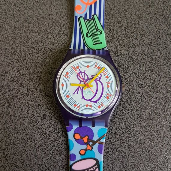 New Swatch Watch offer PLASTIC 1991-1992 Gent Tuba Rarity - GV 104, Drum Music Swatch Model   Tags : swatch watches women, vintage swatch watches, 80's swatch watches, swatch watches silver, swatch watches 2016, mens swatch watches, swatch watches irony, swatch watches chrono, swatch watches automatic, black swatch watches, swatch watches scuba, swatch watches classic, swatch watches for men, swatch watches retro, swatch watches orange,