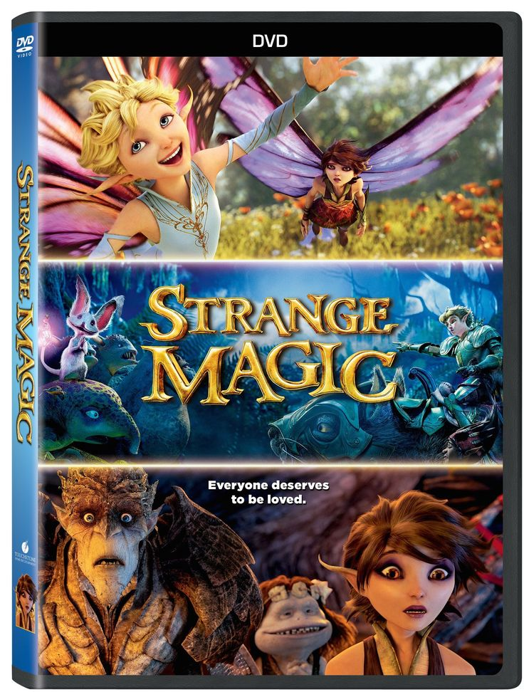 Strange Magic movie review, recipes, printables and more. This movie is ACTUALLY REALLY good