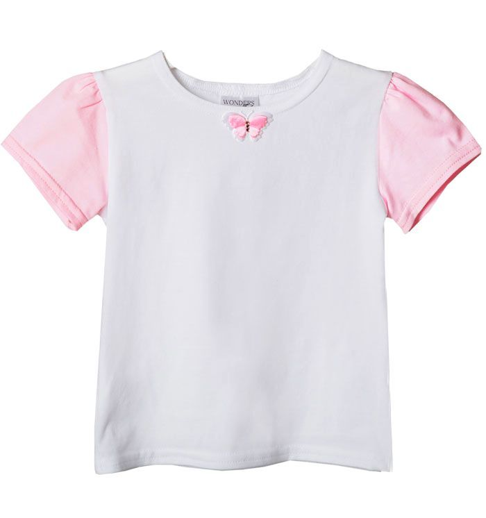 So cute for little girls! http://wondersfashion.pl/girls-top-with-puffed-sleeve-kids-p-35.html