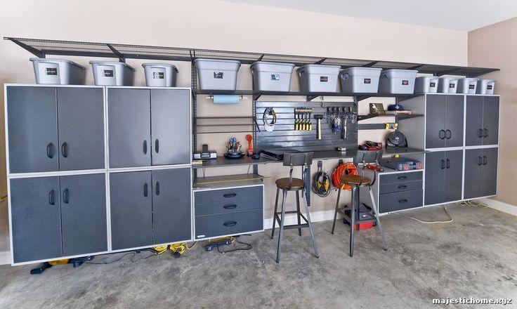 Armoire Rangement Garage Contemporain Garage by Organized Living