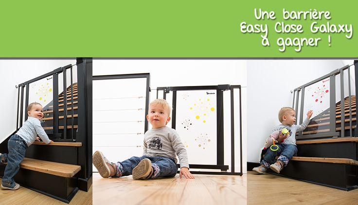 Bada Quizz #6 : une barrière Easy Close Galaxy à gagner #badabulle #jeuconcours #cadeau #bébé