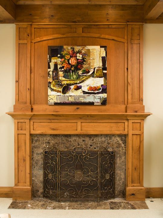11 best fireplace images on pinterest fireplace ideas for Craftsman fireplaces photos