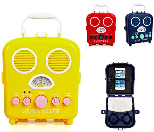Retro Vintage Vibe Portable Music Radio in 3 Colors - GoGetGlam  - 1