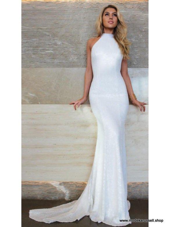 Backless White Long Summer Dress 2019 Festive and Elegant –
