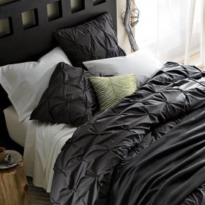 Our West Elm bedding that I am in LOVE with!