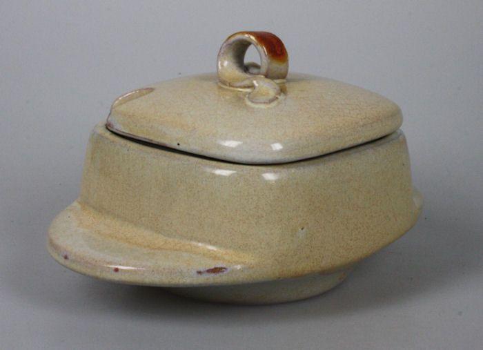 Artentique: Mobach art-deco suikerpot