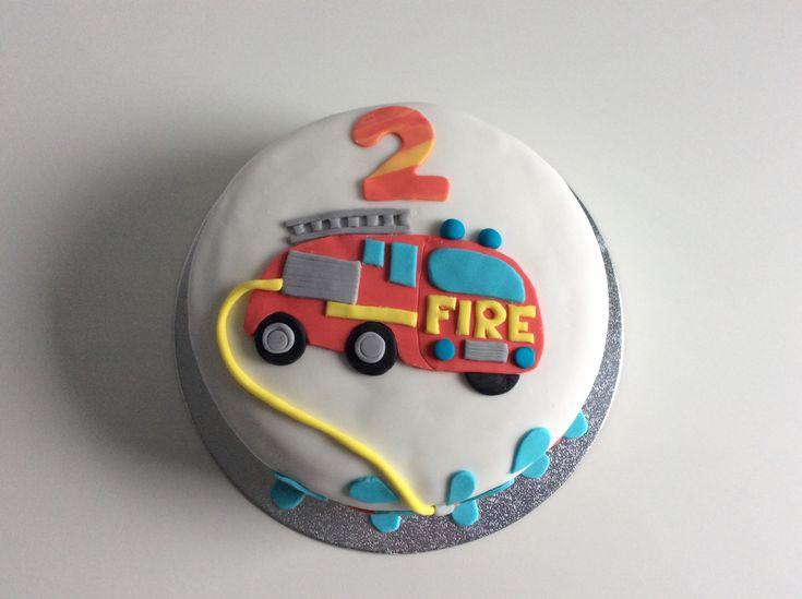 Brandweer taart