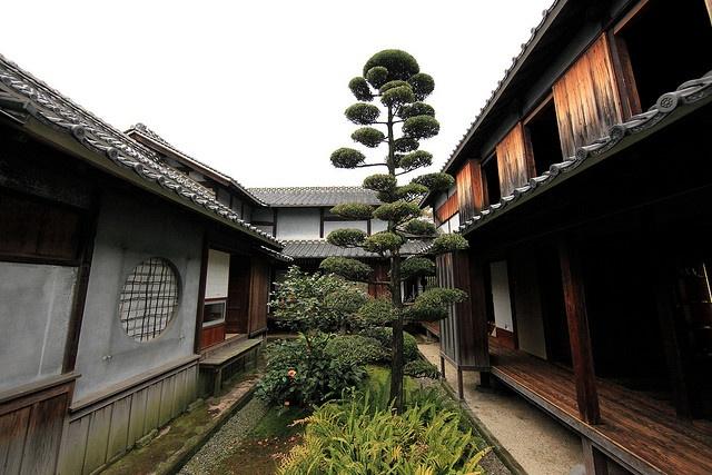 Japanese traditional style SAMURAI house.