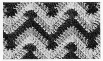 chevron afghan pattern