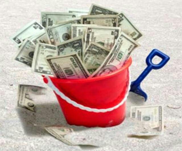 Buckets of Money