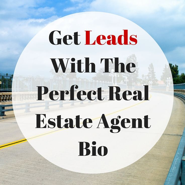 3 Ways To Get Leads With The Perfect Real Estate Agent Bio (Create About Page Squeeze Pages To Capture Motivated Leads)