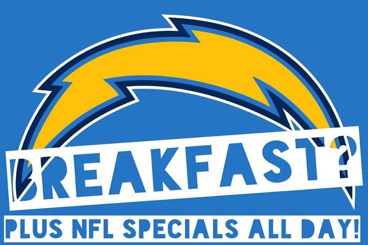 Can we upset the Broncos today?  Cheer here with us!  Breakfast served until noon with NFL SPECIALS all day long during games.  #Chargers #SaveTheBolts #SanDiego #Carlsbad #CarlsbadCA #CarlsbadVillage #EatGrubbys #Grubbys #SenorGrubbys #NFL #Football #Foodie #Tacos #Breakfast #Beer #Mimosas $2 Mimosas all day! #LiveLifeSpicy by senorgrubbys