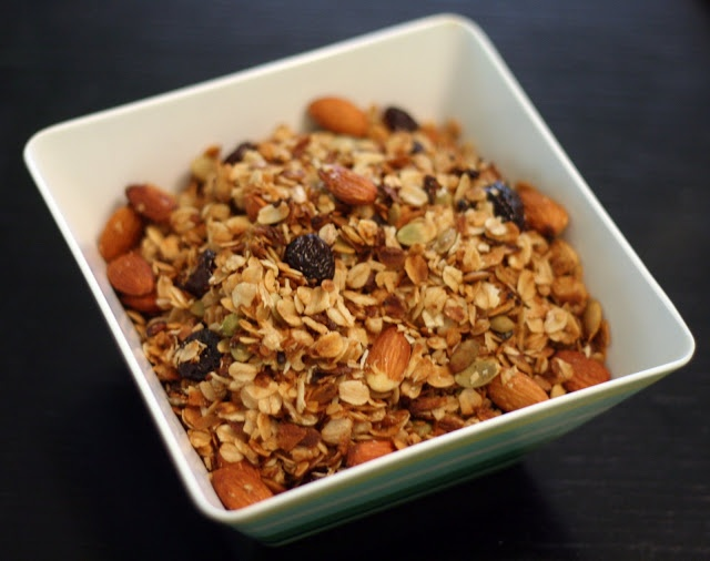... by Rachel Rappaport: Almond Cherry Coconut Granola in the slow cooker