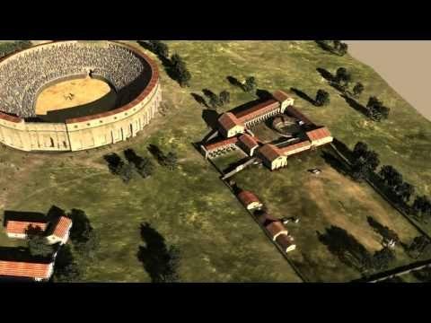 Nella caserma dei gladiatori. Ludus Gladiatorius 3D.