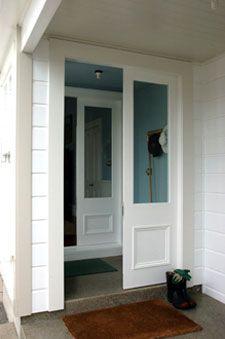 Exterior wooden doors using Accoya, sustainably cropped NZ-grown timber, cedar, kwila, oak : Renall Doors