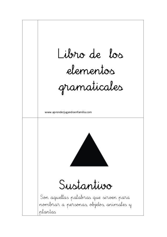 Libro de los elementos gramaticales