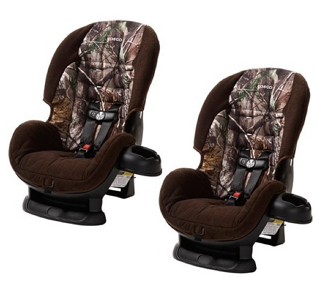 Even The Little One Rides In Style Camo Carseat Yup