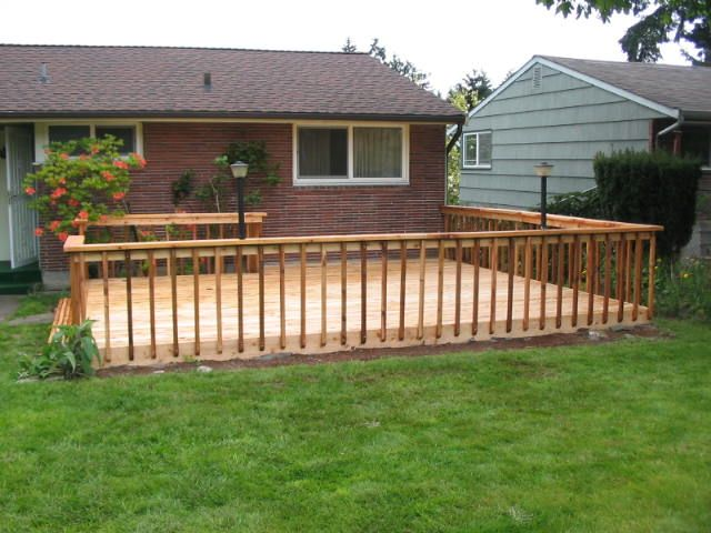 14 best fence ideas images on pinterest backyard fences backyard ideas and cattle panel fence - Wooden balcony design ideas perfect harmony ...