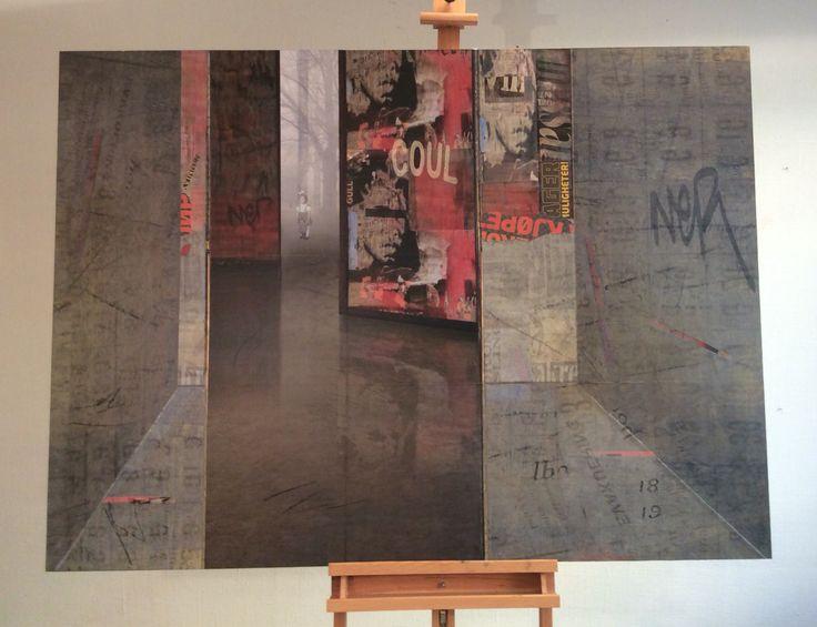 Collage 110x150cm