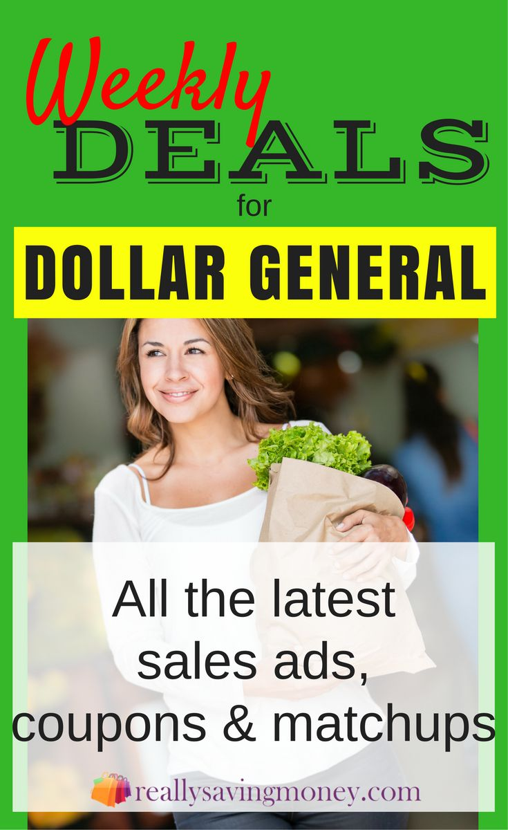 Dollar General Weekly Ad Deals complete with store match-ups. Save money with these Dollar General coupons | weekly deals | Sales ad flyer | Dollar General deals | money saving discounts | sales | grocery discounts | grocery coupons | savings