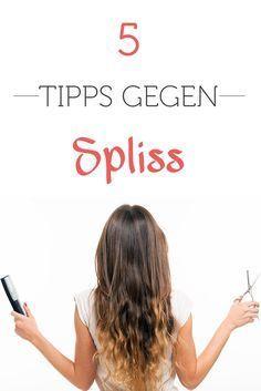 Spliss? 5 Haarkuren gegen trockene Haarspitzen selber machen