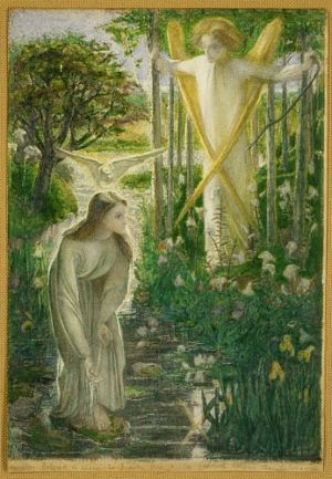 Dante Gabriel Rossetti - The Annunciation